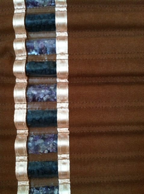 Amethyst and Tourmaline Crystal Channels