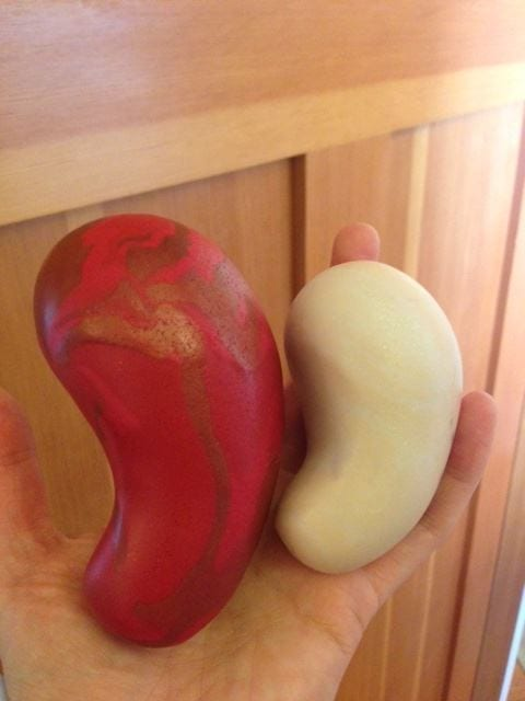 Clay Womb Models. The uterus weighs about 4 ounces and can double in size to 8 ounces reight before your period!